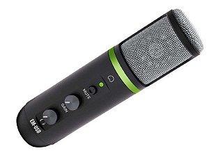 Microfrone Mackie Interface Condenser EM-USB P/Estudio