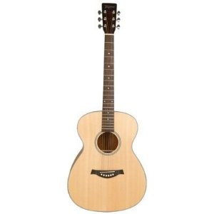 VIOLAO TAGIMA WALNUT THREE GRAND CONCERT COM FISHMAN