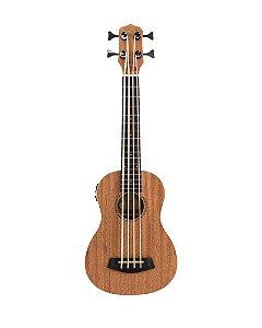 Ukulele Kalani Baritono Bass Maori Series Mogno KAL 500 M