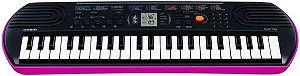 Teclado Casio Musical Infantil Sa 78 Rosa 44 Teclas 50 Ritmo
