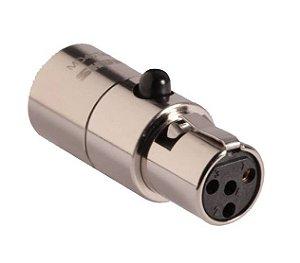 Adaptador Shure para Microfone Microdot MD40TA4F
