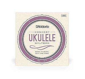 Encordoamento Corda Daddario p/ Ukulele Concert EJ88C
