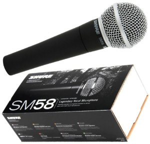 Microfone Shure Vocal Sm58 lc - 2 Anos De Garantia