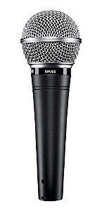 Microfone Shure Dinamico Sm48 lc - 2 Anos De Garantia