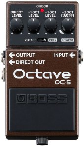 Pedal de Efeito Boss Octave OC-5 para Guitarra