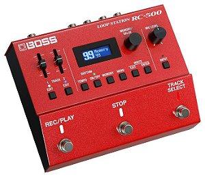 Pedal Boss Loop Station RC-500 para Guitarra