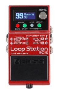Pedal Boss Loop para Guitarra RC-5 Station Avacados