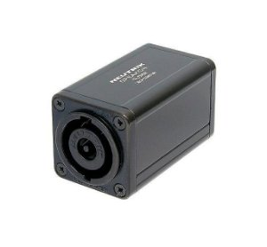 Conector Neutrik Adaptador Spikon Macho 4 Vias NL8MM