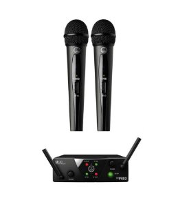 Microfone AKG WMS40 Mini Dual Vocal Set US25B/D