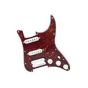 Escudo Condor Tortoise p/ Guitarra c/ Captadores Branco HSS