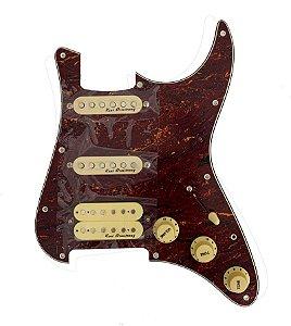 Escudo Condor Tortoise p/ Guitarra c/ Captador Creme HSS