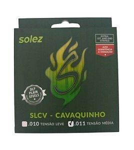 Encordoamento Corda Solez Cavaquinho SLCV 011 Tensão Média