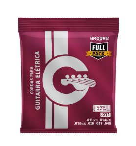 Encordoamento Corda Groove Solez para Guitarra GFP2X 011