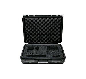 Case Shure Estofado Rígido Original para Microfones
