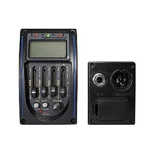 Pré Amplificador Spring P/ Violão C/ Afinador Prg-04