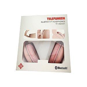 Fone de Ouvido Telefunken Bluetooth Rosa TF-H600BT