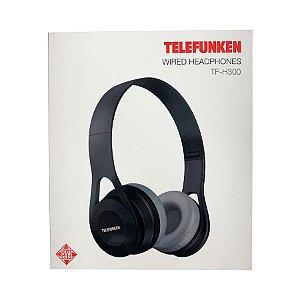 Fone de Ouvido Telefunken Wired Headphone H300