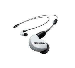 Fone de Ouvido Shure in-ear com microdriver SE215 Branco