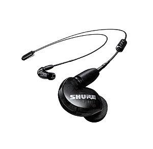 Fone de Ouvido Shure in-ear com microdriver SE215 Preto
