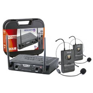 Microfone S/fio Vokal Dvs100dh Duplo Headset