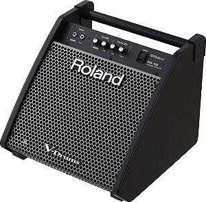 Amplificador de Som Roland PM100 Monitor Pessoal Preto