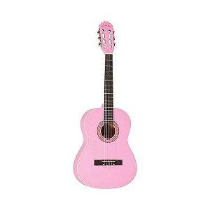 Violão Infantil Class CL36 Pink Nylon Acústico
