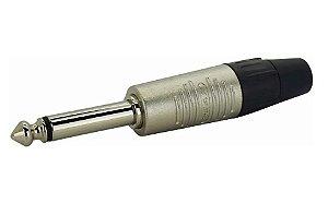 Plug Rean by Neutrik P10 Mono Nickel RP2C