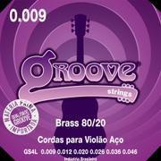 ENCORD.GROOVE VIOLAO AÇO 0.9 GS4L