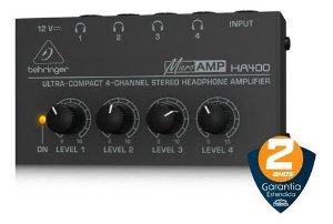 POWERPLAY BEHRINGER AMP. DE FONE HA400