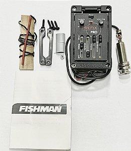 Pré Equalizador Fishman p/ Violão Flat Prefix OEMMANP01