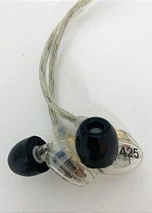 Fone de Ouvido Shure In-Ear Microdriver SE425-CL MOSTRUÁRIO