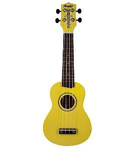 Ukulele Tagima Memphis Honu Nylon Neon Yellow Amarelo