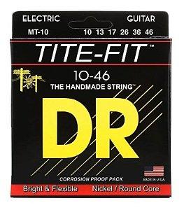 Encordoamento DR Tite Fit Guitarra 010 MT-10