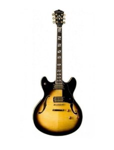 Guitarra Washburn Semi Acústica HB35TS Double Cutaway