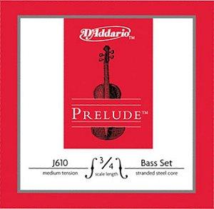 ENCORDOAMENTO CORDA DADDARIO BAIXO 3/4 Prelude J610