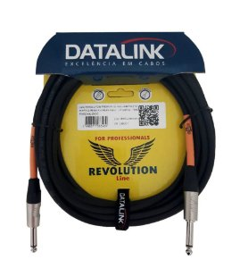 Cabo Datalink Revolution Premium  P10 Rean Preto RI055 7 m