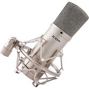Microfone Icon Condensador XM1 com Shock Mount e Case