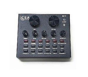 Interface de Audio Santo Angelo CSA DC1 Digital c/ Efeitos