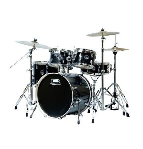 Bateria D ONE Street DS22BK Black Preto