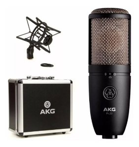 Microfone Akg P420 Condensador Perception Estudio E Ambiente