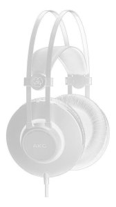 Fone Akg K52 Profissional Headphone Akg K52