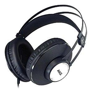 Fone Ouvido Akg K 72 Headphone Fechado Profissional K72