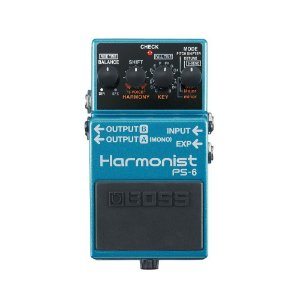 Pedal Boss para Guitarra Harmonist PS-6