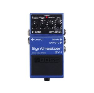 Pedal Boss para Guitarra Synthesizer SY-1