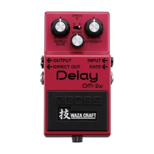 Pedal Boss para Guitarra Waza Craft Delay DM-2W