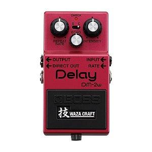 Pedal Boss para Guitarra Waza Craft Delay DM-2W