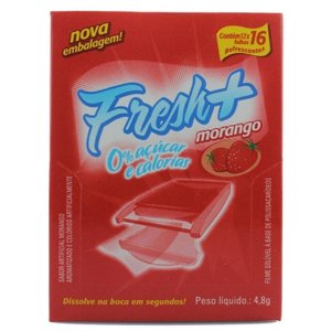 Pack 12 Unidades Lâminas Morango Fresh