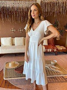 Vestido Luana Branco