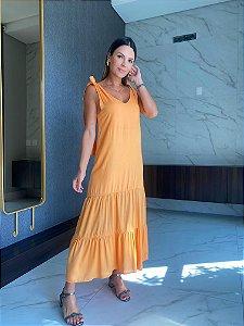 Vestido Lara Laranja
