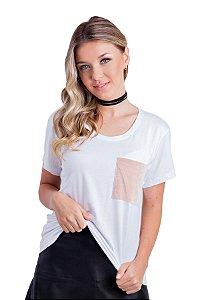 T-Shirt Bella (bolso veludo)